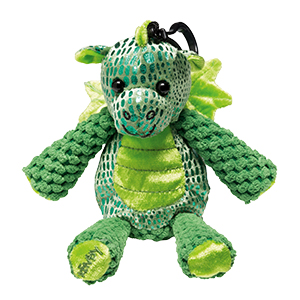 SCOUT THE DRAGON + WILD WHAT-A-MELON FRAGRANCE BUDDY CLIP