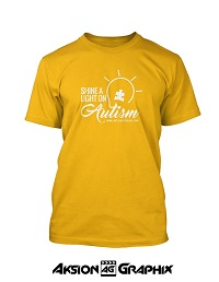 Shine a Light on Autism Yellow